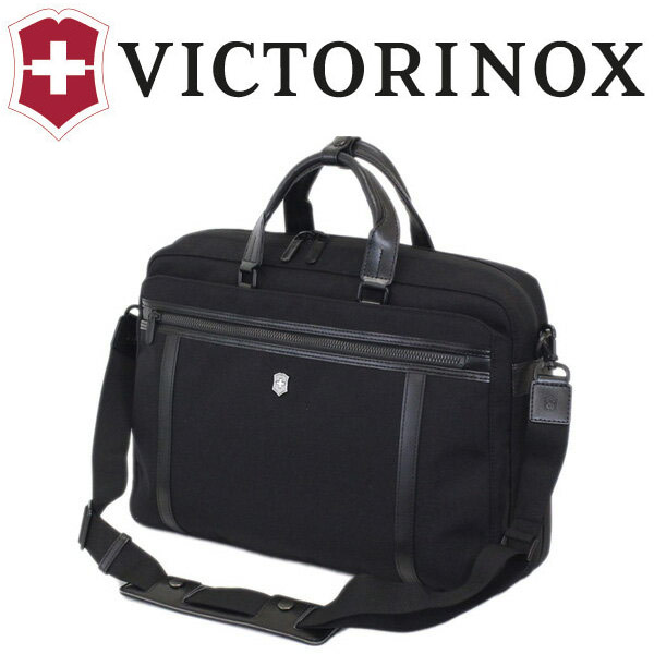 正規取扱店 VICTORINOX (ビクトリノックス) 604689 Works Professional Technician 15 Expandable ビジネス ブリーフケース ショルダー BLACK VX030