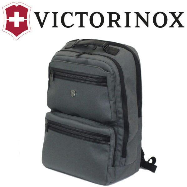 正規取扱店 VICTORINOX (ビクトリノックス) 604692 Werks Professional Agent 15 ラップトップバックパックウィズタブレットポケット GRAY グレー VX038