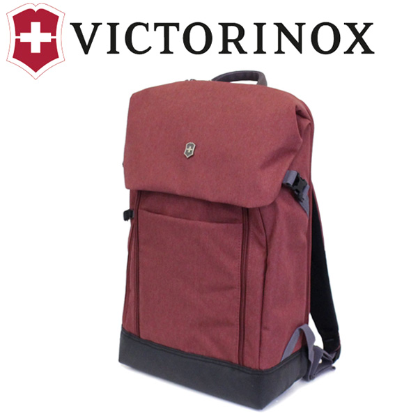 正規取扱店 VICTORINOX (ビクトリノックス) 605314 AltmontC DX FlapOver LapTop BackPack バックパック Burgundy VX049
