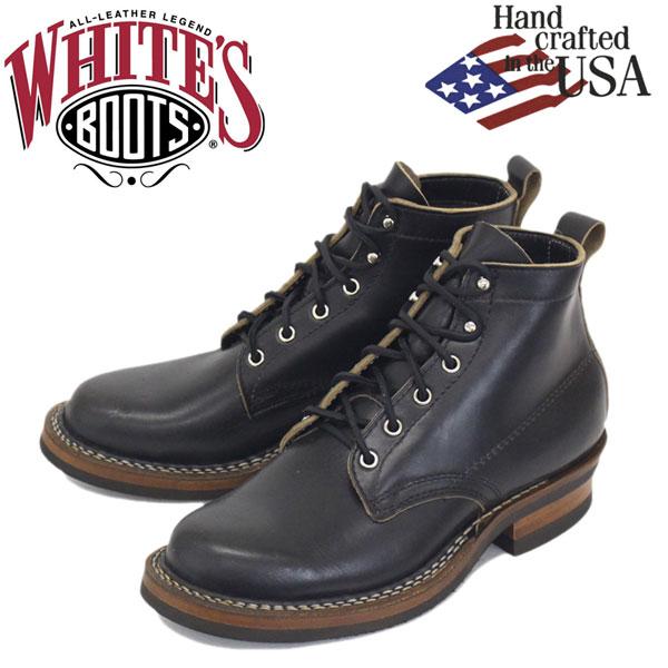 正規取扱店 WHITE'S (ホワイツ) 2332-C-BLCX SEMIDRESS セミドレス レザーブーツ Black CHRMX WH01