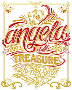 【100円クーポン配布中!】angela TREASURE Blu-ray BOX(Blu-ray Disc)/angela