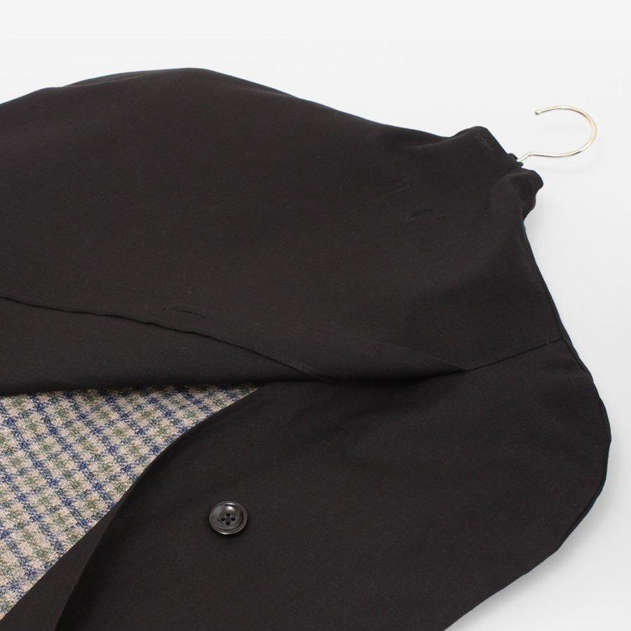 本日限定 繰り返し洗って使える一生モノの洋服カバー L 買い物 C ガーメントカバー ボタン開閉衣装カバー 衣類収納 衣装カバー 一生使える布製洋服カバー