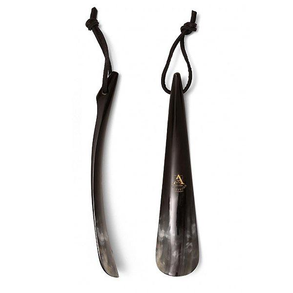 靴を履くことの喜びをより高めてくれる逸品 アビィホーン チップエンド 20cm 水牛角 シューホーン 英国製 店舗 アウトレット 靴ベラ