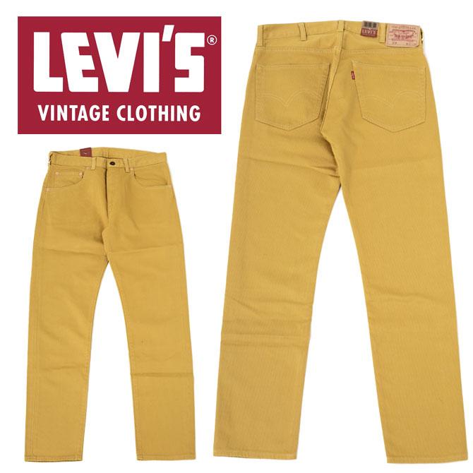 保証 Levi's リーバイス 1960s 519reg; 最新アイテム ベッドフォード パンツ 51860-0011 ハーベストゴールド ヴィンテージクロージング519 メンズ テーパード ベッドフォードパンツ 0011