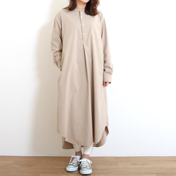 ハーベスティ HARVESTY トラベルタイプライターシャツワンピース TRAVEL TYPEWRITER CLOTH SHIRT DRESS A41901