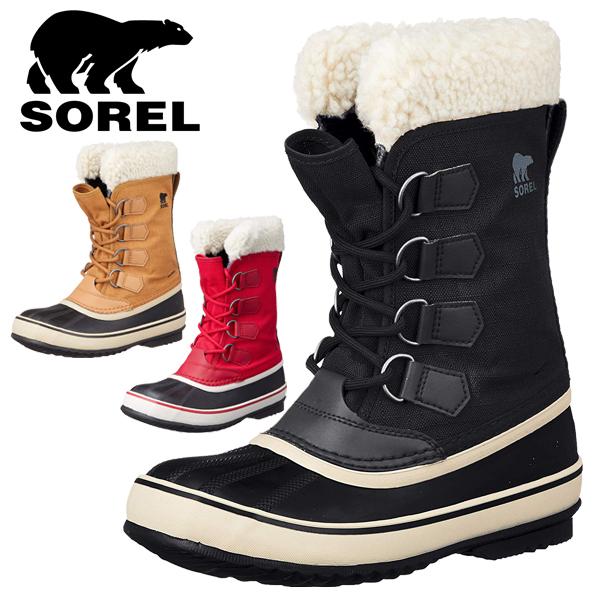 SOREL/ソレル レディース スノーブーツ ブーツ ロングブーツ スノーシューズ スノーブーツ ウインターシューズ ウインターブーツ 冬 靴 防水 防滑 防寒 ウィンターカーニバル NL3483 あす楽対応_北海道 BOS 在庫一掃