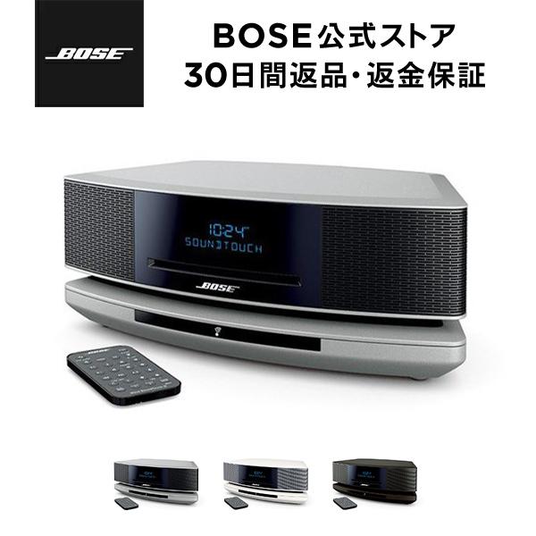 CD ラジオ ストリーミング オールインワンオーディオ BOSE Wave SoundTouch 評価 music system IV スピーカー Bose ワイヤレス ブルートゥース Bluetooth ボーズ公式ストア 音楽鑑賞 感謝価格 bose Wi-Fi ウェーブシステム