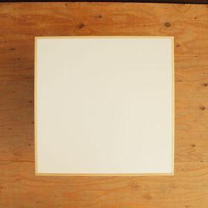 テーブル トップ 送料無料 机 デスク TOP 天板 メラミン 白 ブナ 無垢 縁 エッジ 無塗装 天板B 500×500 □□ bosky DIY 組み合わせ自由