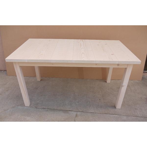 セーヴルテーブル 1370 ホワイト ■ 送料無料 テーブル パイン 無垢 材木 木 木製 アンティーク 北欧 ナチュラル カントリー 食卓 ダイニング ダイニングテーブル 国産 日本製 安心
