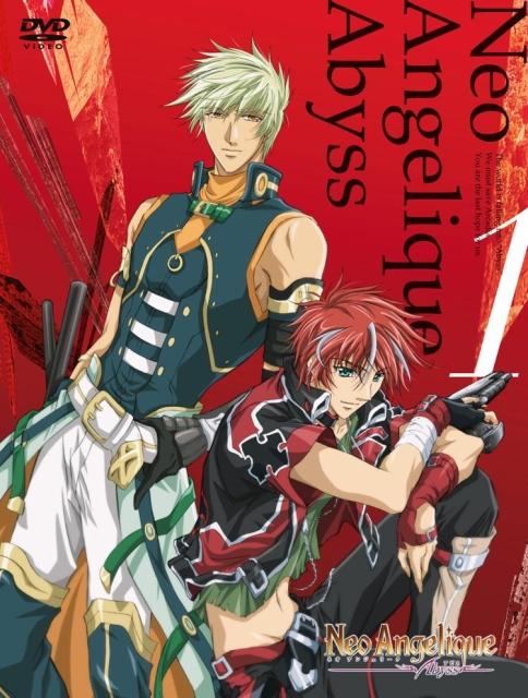 【中古レンタルアップ】 DVD アニメ Neo Angelique Abyss (ネオアンジェリークアビス) 全5巻セット