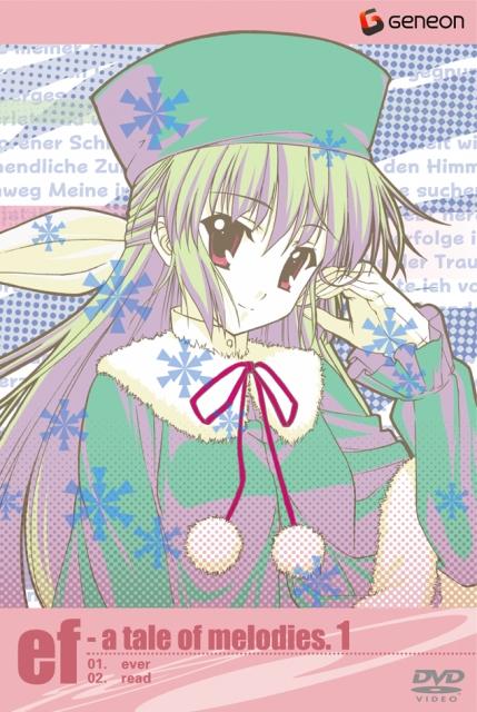 【中古レンタルアップ】 DVD アニメ ef-a tale of melodies. 全6巻セット