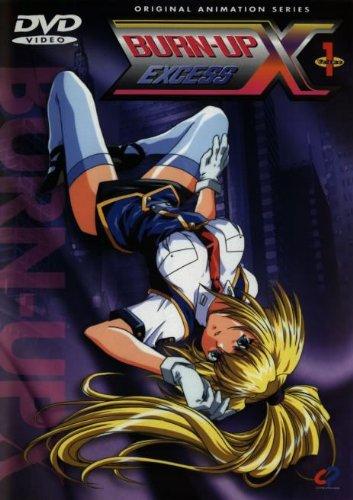 【中古レンタルアップ】 DVD アニメ BURN-UP EXCESS (バーンナップ エクセス) 全6巻セット