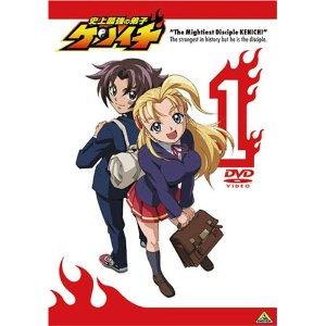 【中古レンタルアップ】 DVD アニメ 史上最強の弟子ケンイチ 全13巻セット