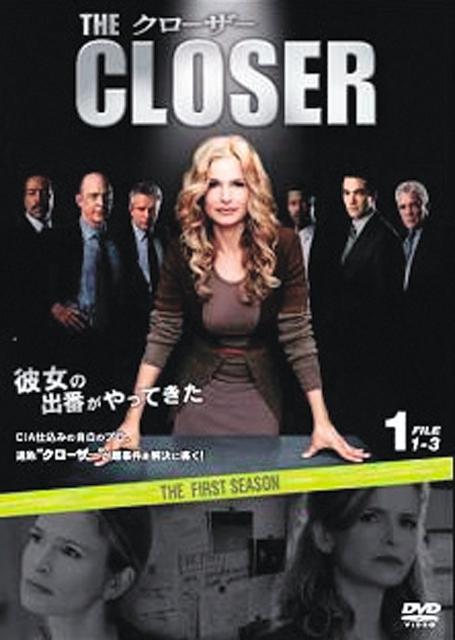 【中古レンタルアップ】 DVD 海外ドラマ クローザー THE CLOSER ファースト・シーズン 全6巻セット キーラ・セジウィック