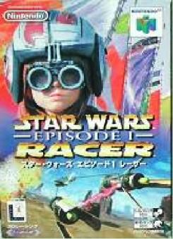 【中古】 N64 <BR>スター・ウォーズ エピソード1 レーサー(傷みあり)