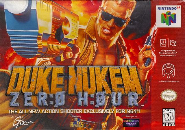 【中古】 N64 北米版 DUKE NUKEM ZERO HOUR