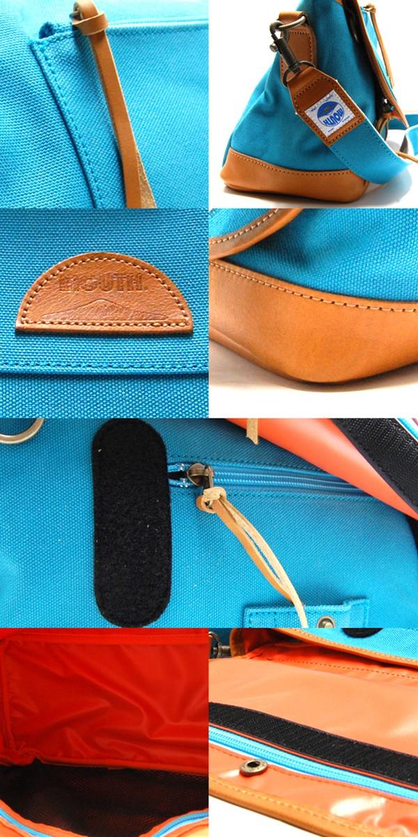 MOUTH Delicious mark-1 ショルダーバッグ マウス デリシャスマーク1 MJS11019 COBALT BLUE 日本製[fs01gm]