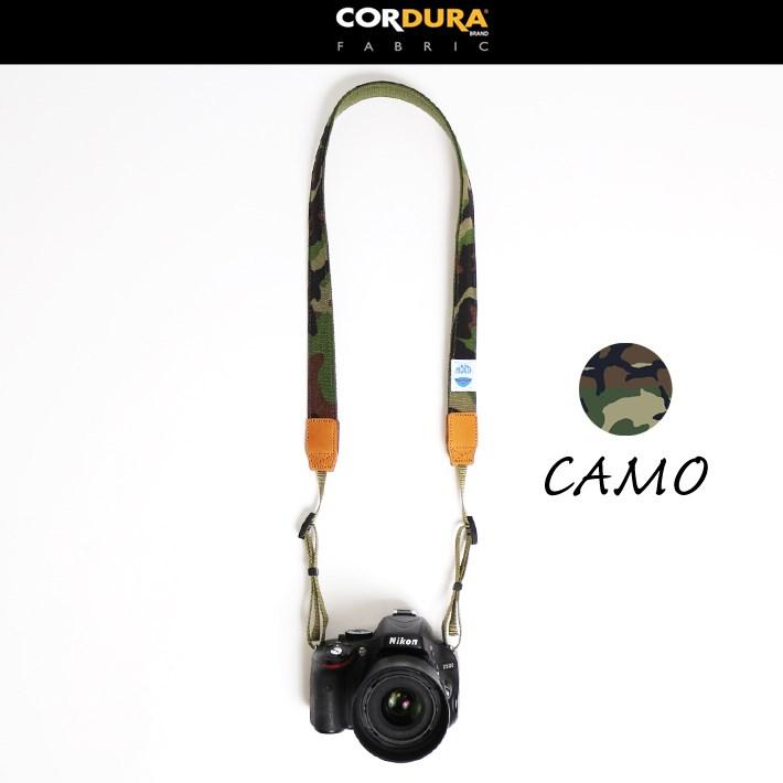 カメラストラップ 一眼レフ ミラーレス 30ミリ Delicious Camera Strap MJC13029-30mm MOUTH マウス コーデュラナイロン