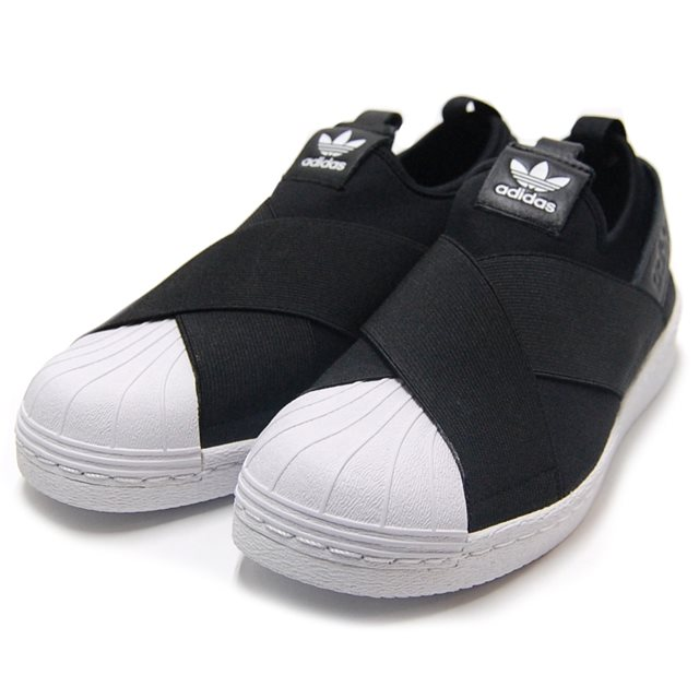 adidas adidas men's women's slip-on Originals Superstar Slip On W originals superstarslippon W core block / core black / running white S81337