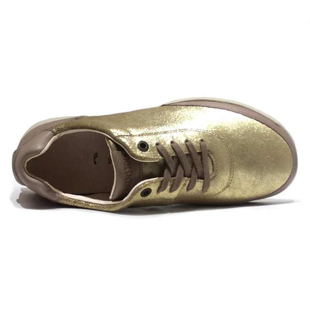06dc1693fb2 BIRKENSTOCK Birkenstock Womens sneakers MANITOBA Manitoba MIXED LEATHER mix  leather METALLIC CAPPUCCINO LUNA metallic cappuccino Luna GS556143 ...
