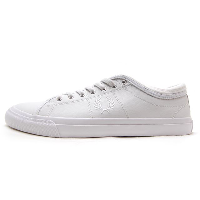 f3d9388d4d FRED PERRY Fred Perry mens Womens sneakers KENDRICK TIPPED CUFF LEATHER  WHITE white B 7460U- ...