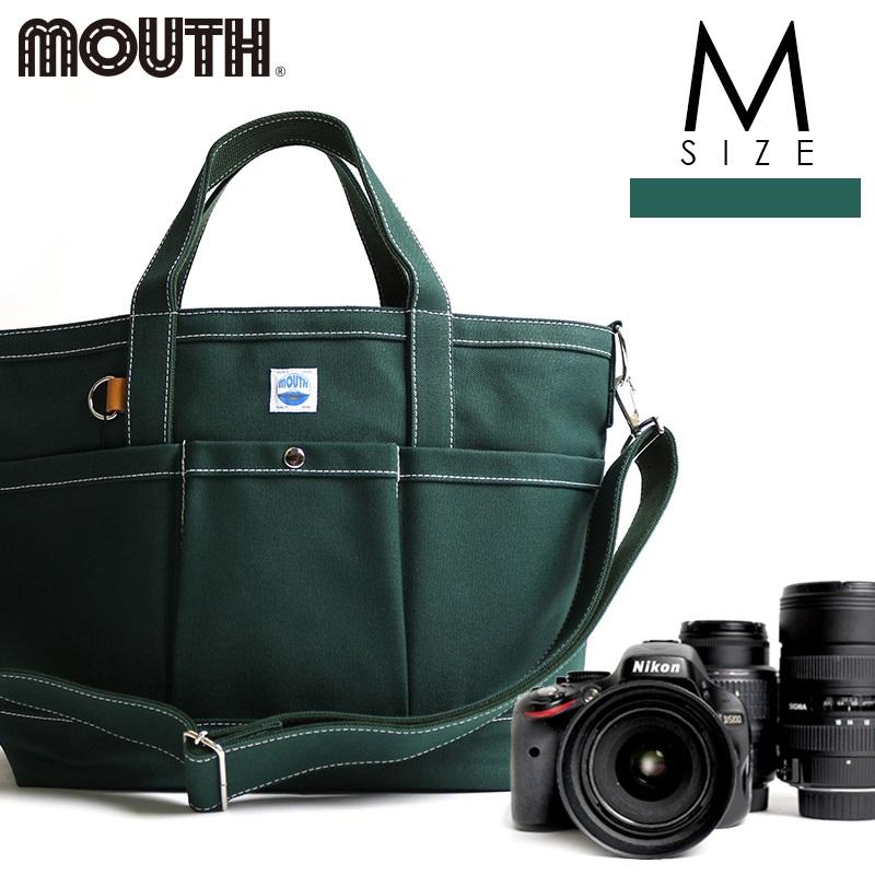 トートバッグ カメラトート カメラバッグ MOUTH マウス 106トート Mサイズ グリーン 日本製 MJT13032-GREEN