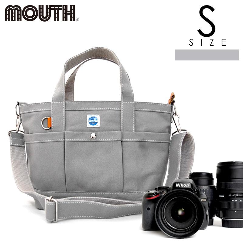 トートバッグ カメラトート カメラバッグ MOUTH マウス 104トート Sサイズ グレー 日本製 MJT13033-GRAY
