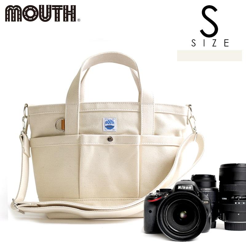 トートバッグ カメラトート カメラバッグ MOUTH マウス 104トート Sサイズ ナチュラル 日本製 MJT13033-NATURAL