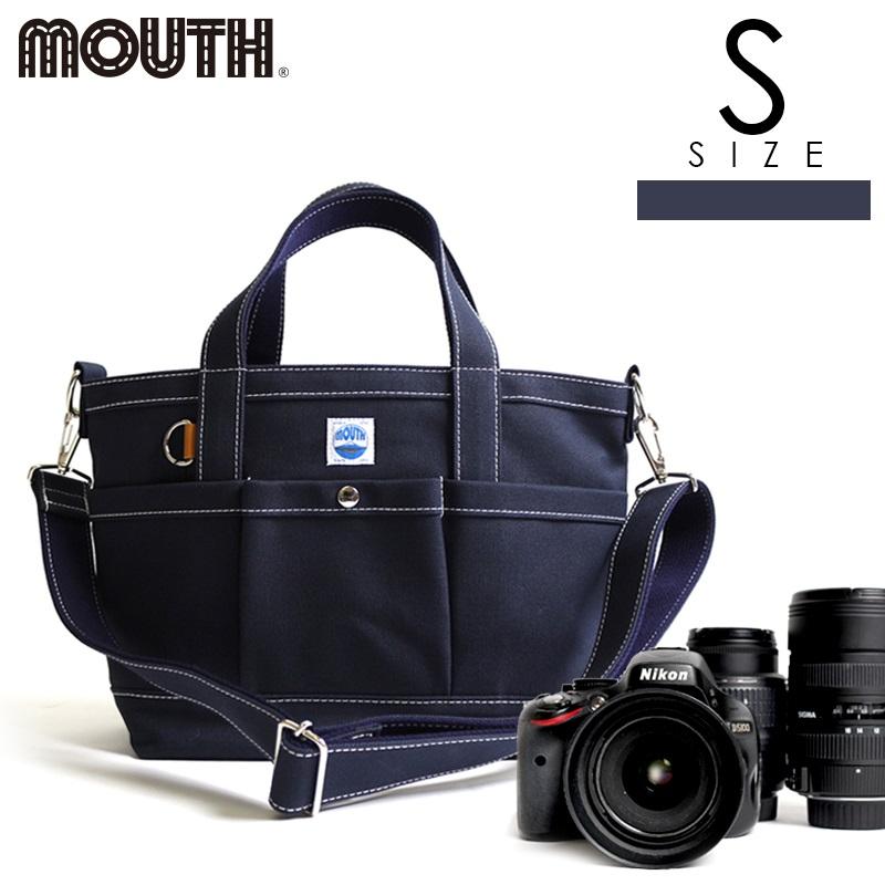 トートバッグ カメラトート カメラバッグ MOUTH マウス 104トート Sサイズ ネイビー 日本製 MJT13033-NAVY