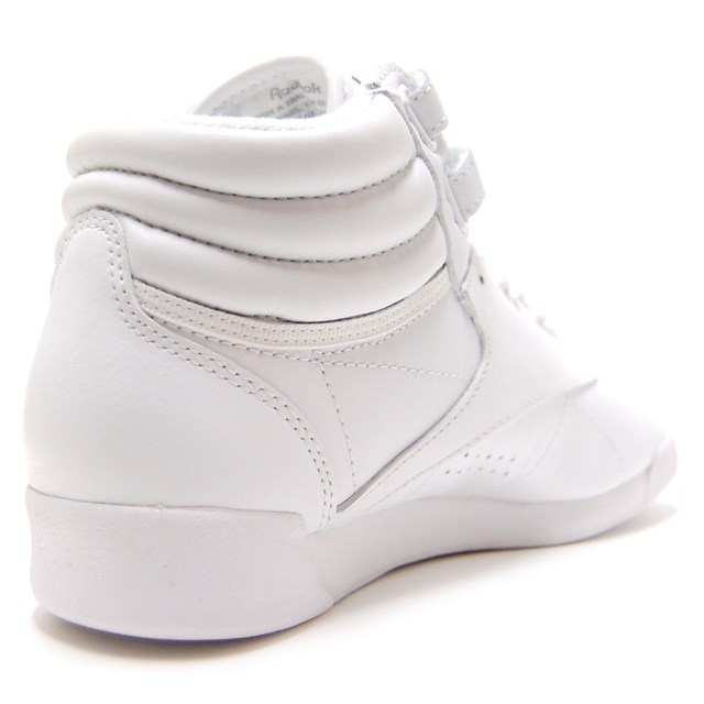 Reebok Reebok Lady s sneakers F S HI INT white   silver 2431  for the  leather   casual   sporty   higher frequency elimination   Lady s  e17da5312