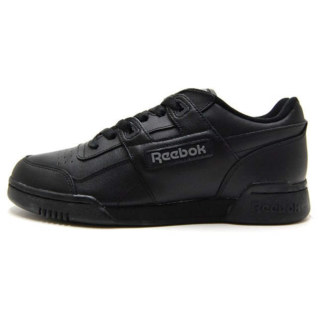 8f114eb2f2e Reebok Reebok men gap Dis sneakers WORKOUT PLUS black   black   charcoal  2760  sporty leather   casual
