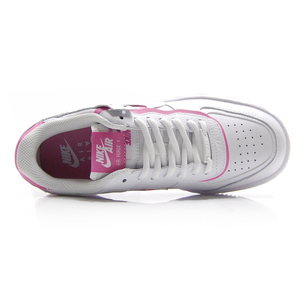 Nike women air force 1 shadow NIKE W AF1 SHADOW WHITEWHITE MAGIC FLAMINGO Lady's sneakers CI0919 102