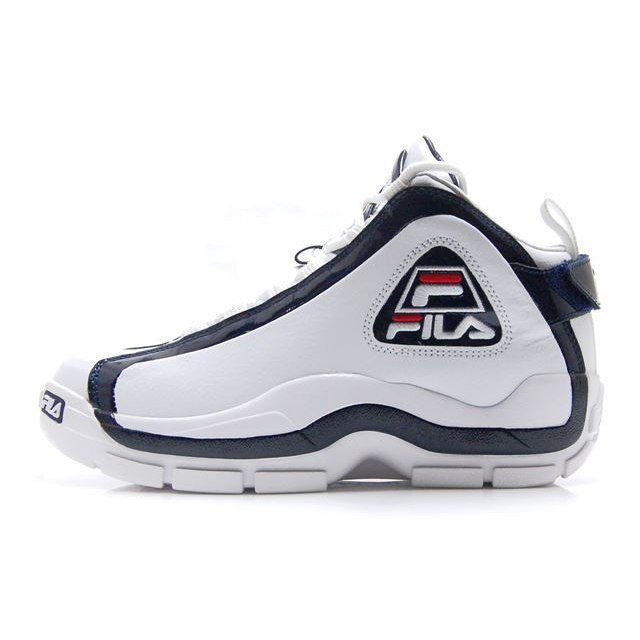 6e20013fbd90 Fila FILA Grant Hill sneakers 96 GL WHITE FILA NAVY Grant Hill Grant Hill  reproduction 2Pac pack FHE101-01 FHE101-560