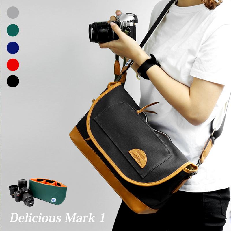 カメラバッグ 一眼レフ ミラーレス ショルダーバッグ カメラケースセット Delicious mark-1 pack デリシャスマークワン MJS11019 MJC12024 MOUTH マウス おしゃれ