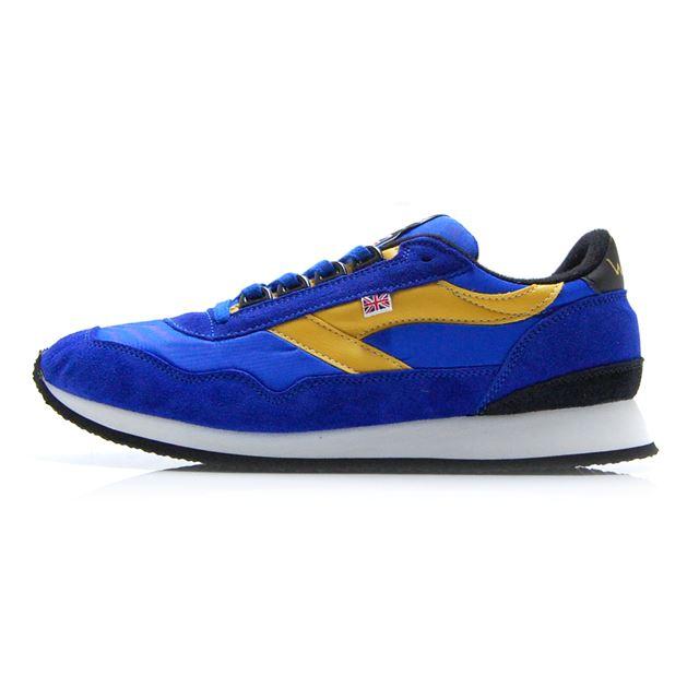 ウォルシュ エンサイン WALSH ENSIGN Blue/Yellow メンズ スニーカー 【イングランド製 英国製】 ENS70102