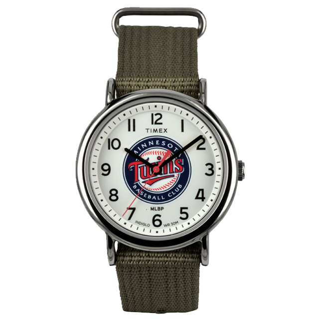 TIMEX タイメックス メンズ 腕時計 ミネソタツインズMLB TW2T55200 [TIMEX/タイメックス/Weekender/トリビュートコレクション]