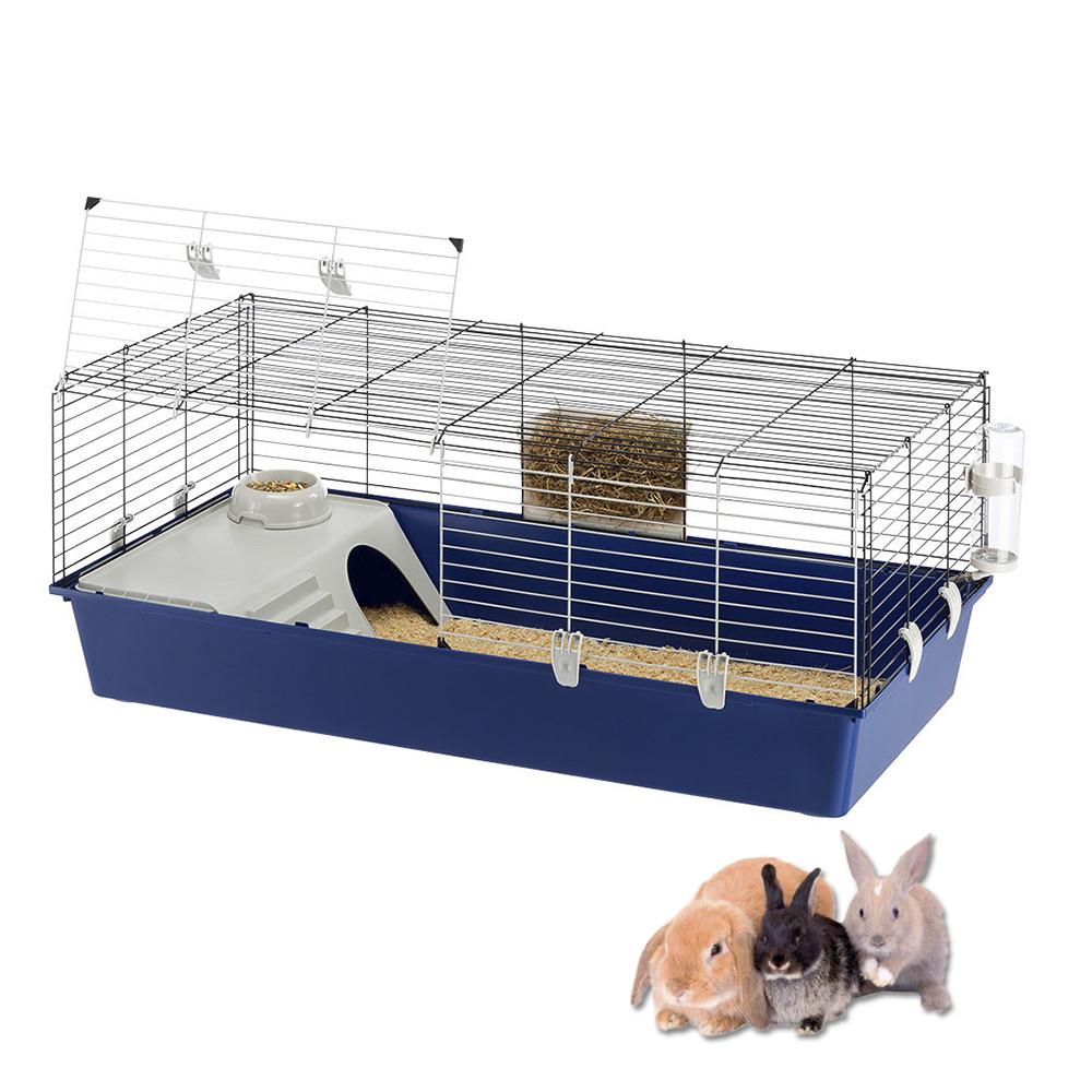 【】イタリアferplast社製 モルモット うさぎ用ケージ ラビット 120 Rabbit 120 セット:BOTANIC GARDEN