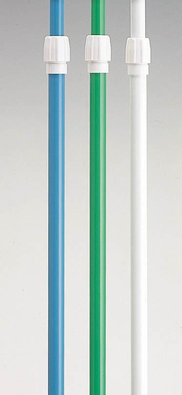 大型商品は持ち帰りが大変…格安ポールをネット通販で 5mポール 送料無料でお届けします 伸縮タイプ 白 緑 のぼり竿 1ケース10本入り 本日限定 のぼり用ポール のぼりポール