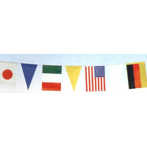 3個以上~ 売却 s-h-5 万国旗三角入 屋内用 21枚付 連続旗 毎週更新