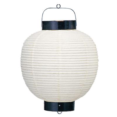 T215 15号丸・和紙提灯 43×63cm【ちょうちん】