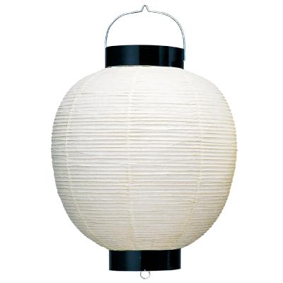 T220 20号丸・和紙提灯 60×79cm【ちょうちん】