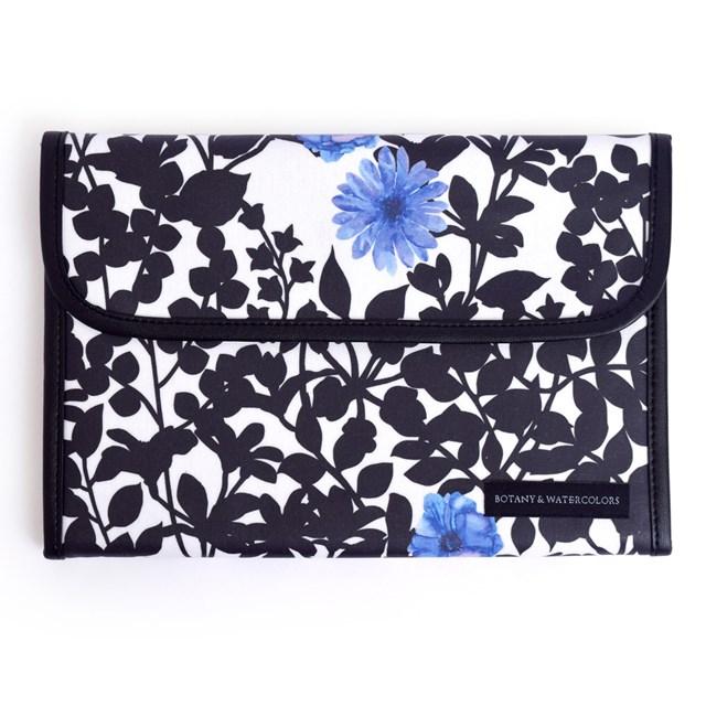 マルチケース 当店一番人気 母子手帳ケース ジャバラ 出荷 リリーオブザバレー すずらん 大容量 2人分 花柄 ボタニカル柄