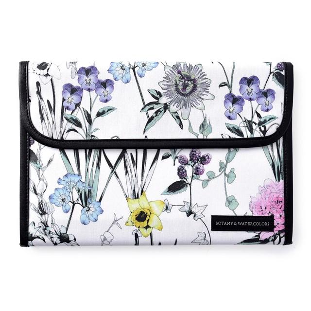 マルチケース おすすめ 母子手帳ケース ジャバラ ボタニカルガーデン ボタニカル柄 花柄 2人分 半額 大容量