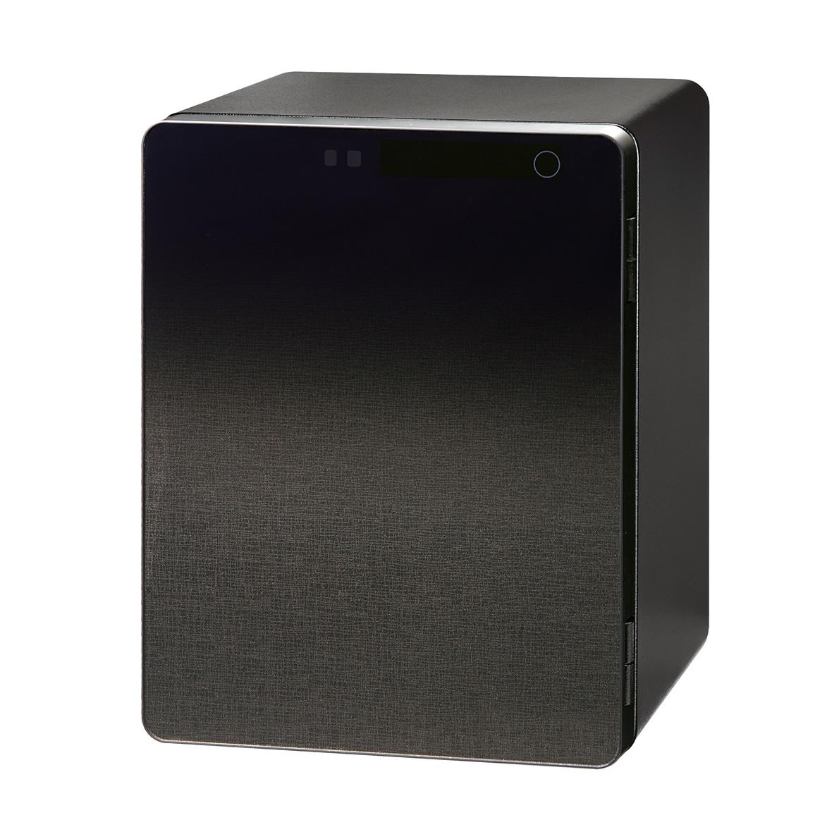 グラデーションカラーを施した フルフラットなデザインパネル 金庫 全品送料無料 ICB-040 卸売り エーコー40L タッチパネルテンキー