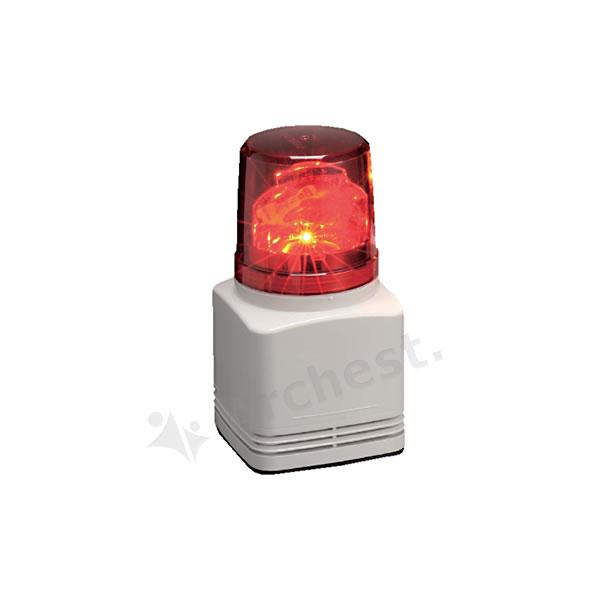 【送料無料】オプテックス[RFV-100F-R]-音声合成内蔵LED回転灯(パトライト社製)なら防犯・防災グッズ通販所