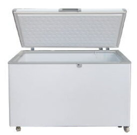 【特典付き】冷凍ストッカー(業務用 冷凍庫)385L[385-OR]-シェルパキャスター付 鍵付き 大量 ストック 厨房機器