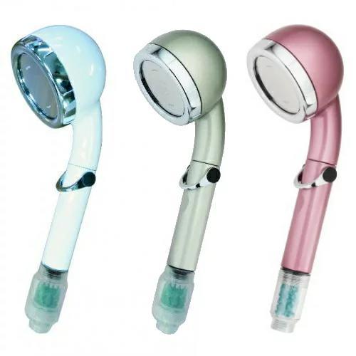 洗浄力抜群、気持ちいいミストに驚きの効果 宝石シャワーPremium[shower-P]-オムコ東日本 美容 健康 節水 マイナスイオン ヘッド