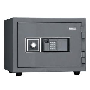 キング工業[KMX-20FPE]-指紋認証耐火金庫 指紋錠・テンキー錠