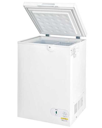 代引不可 夜間指定 日曜祝日配達指定不可 車上渡し シェルパの業務量冷凍庫が激価 冷凍ストッカー 業務用 鍵付き 98-OR お気に入り 冷凍庫 キャスター付き 98L 買い物 フリーザー シェルパ縦型