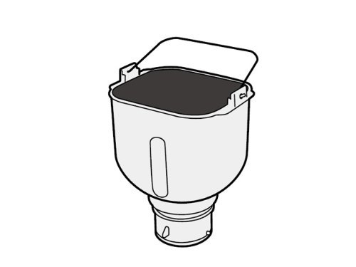 ホームベーカリー 米用パンケース[ADA60-176]-Panasonic(パナソニック) 調理家電 ホームベーカリー 部品 パン純正